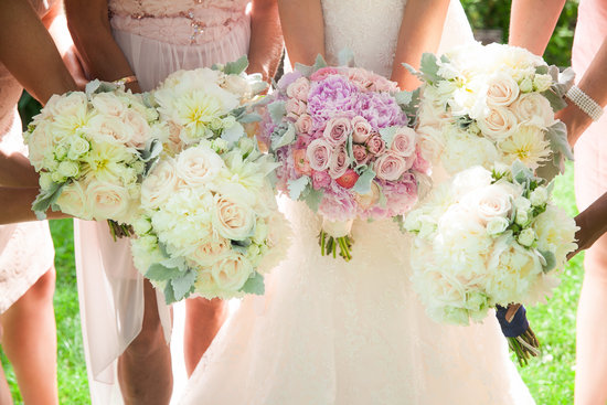 photo of Bride and Blossom