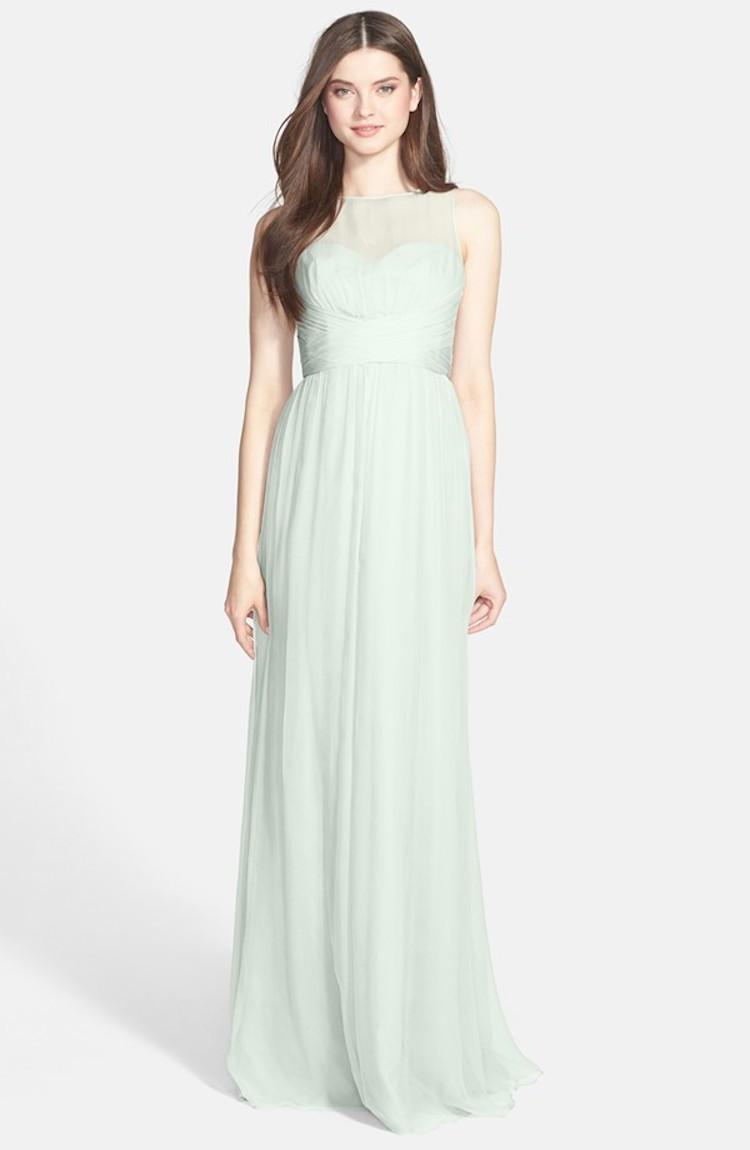9cb529b5787bc Amsale Bridesmaid Dresses Crinkle Chiffon