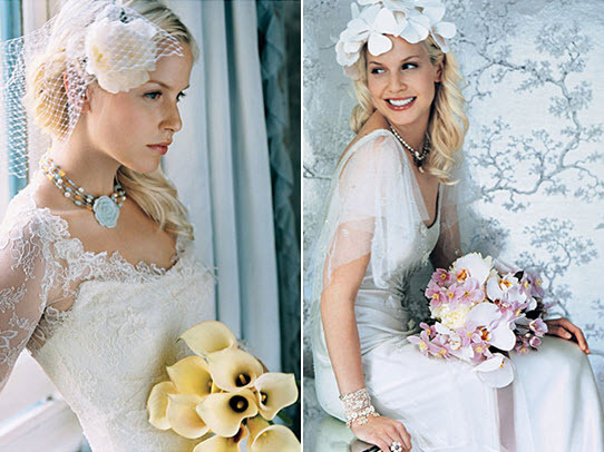 The-blond-bride-perfect-white-wedding-dress-hue-vintage-birdcage-veil.full