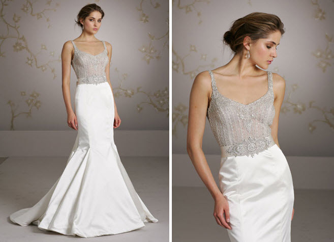 Lazaro-trumpet-mermaid-wedding-dress-jeweled-sash-at-waist.full