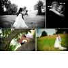 Bride-groom-kiss-in-open-field-groom-dips-bride-in-white-wedding-dress-first-dance.square