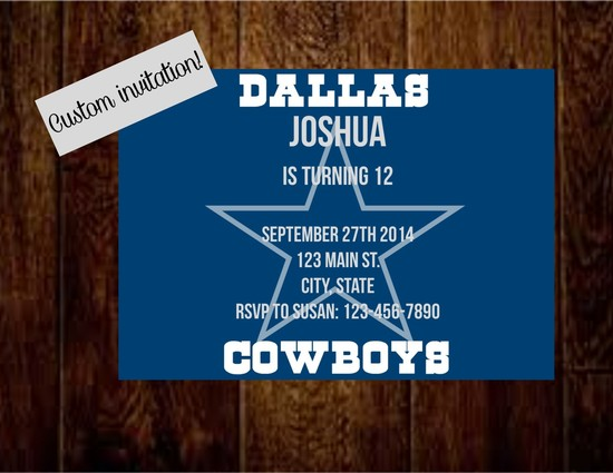 dallas cowboy wood