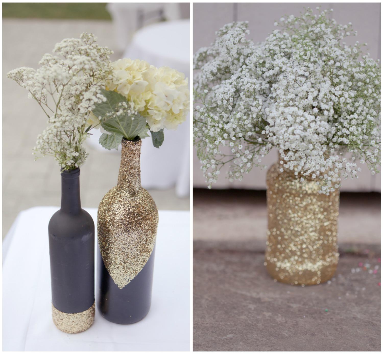 Diy Glitter Vases Onewed Com