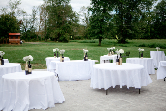 photo of Elegant and Modern Outdoor Reception