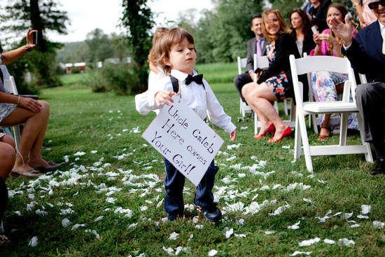 Nephew Ring Bearer Sign