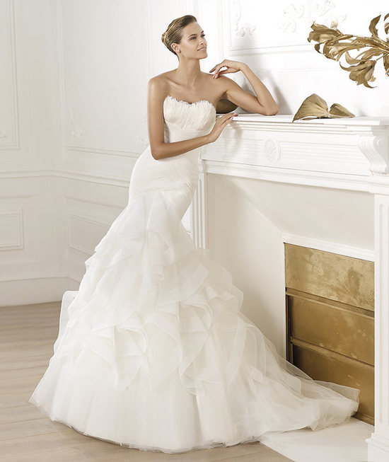 photo of Pronovias 2015 Dream Collection Ledurne Gown