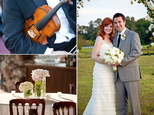 Outdoor-texas-wedding-reception-violinist-wedding-music-entertainment-chic-classic-floral-table-centerpieces.full