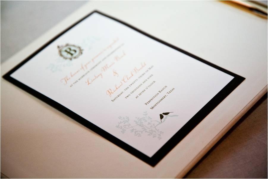 White-black-light-teal-coral-wedding-stationery-invitations-custom-monogram-chic-wedding-stationery.full