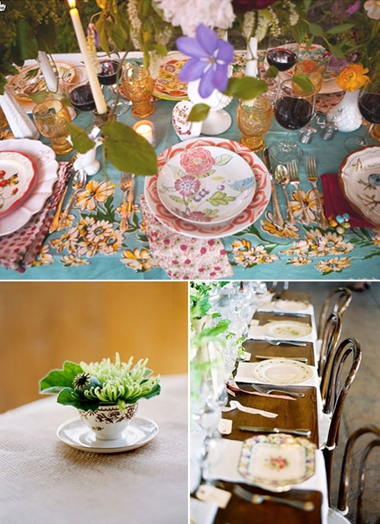 photo of Recycled Bride: A Budget-Friendly Green Bridal Shower