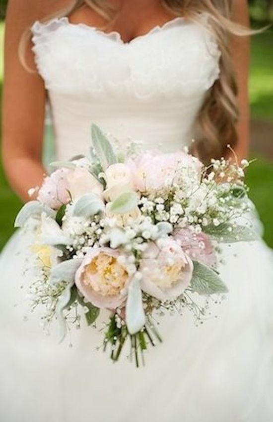 Shabby Chic Bridal Bouquet
