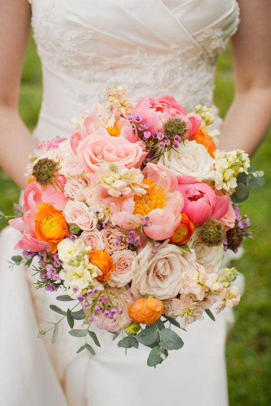 Stunning Bouquet in Shades of Pink