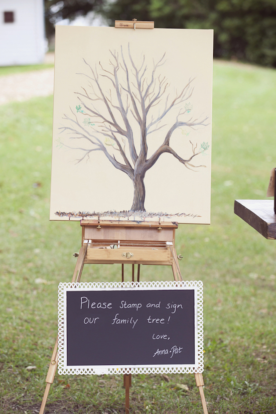 Alternative Family Tree Guest Book