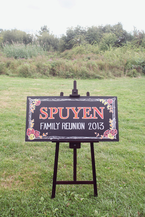Pretty Ceremony Sign