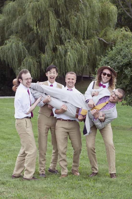 Playful Groomsmen Photography