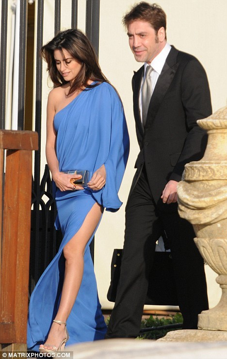 Penelope Cruz walked down the aisle earlier this month; wed Spanish actor Javier Bardem