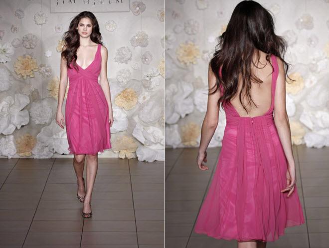 Mid-length-tea-length-bridesmaids-dress-light-fabric-pink-chiffon.full