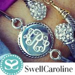 photo of Swell Caroline Monogram Jewlery