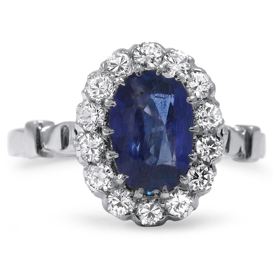 Brilliant Earth Quincy Sapphire Engagement Ring