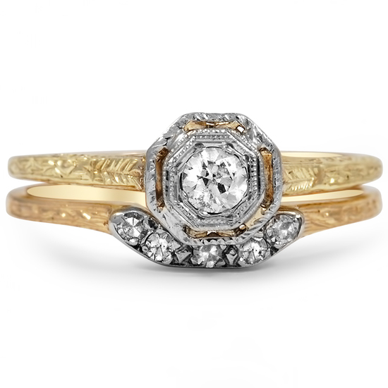 Brilliant Earth Amanda Engagement Ring with an Octagonal Diamond