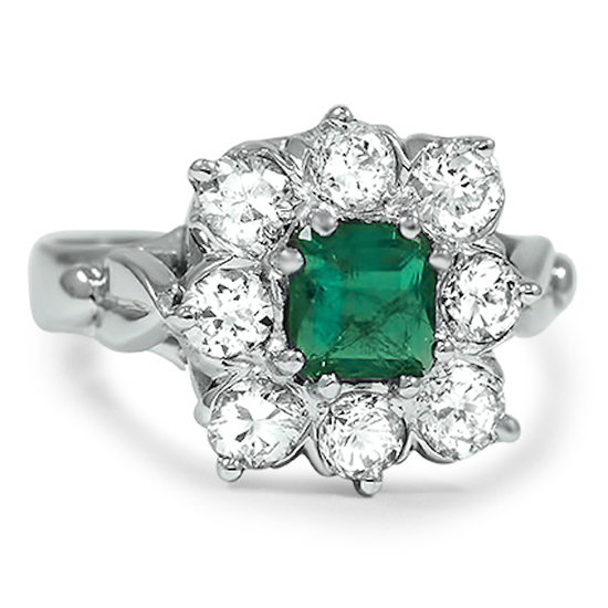 Brilliant Earth Sardinia Emerald Engagement Ring