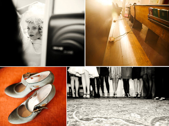 photo of Vintage Meets Rock And Roll Chicago Wedding: Teri and Dan