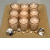 Simple-cheap-diy-wedding-reception-decor-wood-bamboo-tray-with-votive-candles-and-faux-diamonds.square