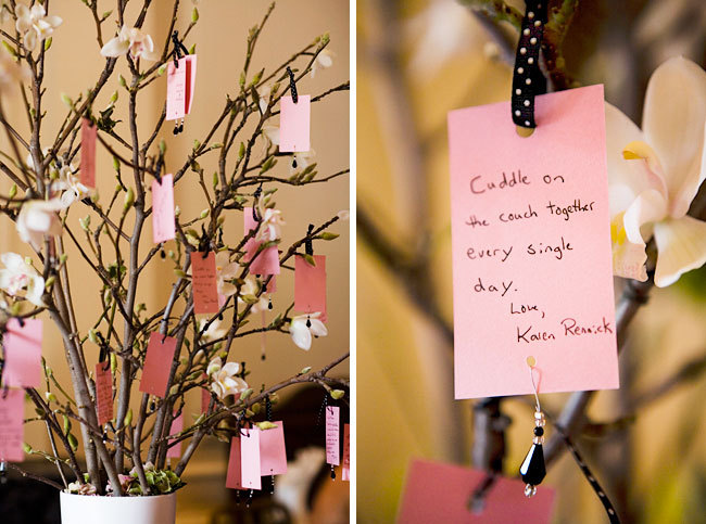 Unique-wedding-guest-book-idea-cards-signed-by-guests-hung-from-tree.full