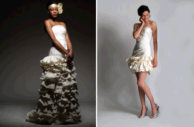 Strapless-short-and-long-eco-chic-wedding-dresses-tiered-ruffles-ombre-chic_0.full