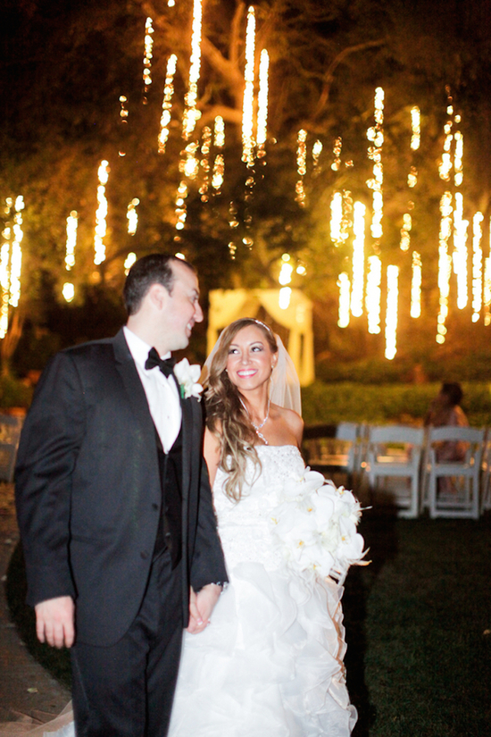 Bright Lights And Newlyweds At Night