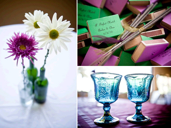 Purple-green-white-vineyard-wedding-reception-centerpiece-and-guest-favors.full