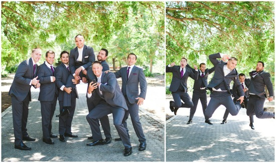 Fun and Creative Groomsmen Photography