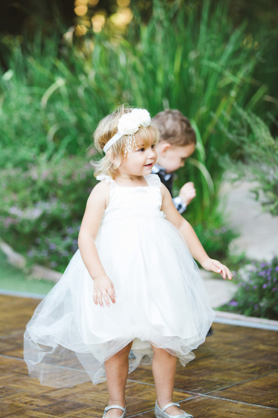 Adorable Little Miss Flower Girl