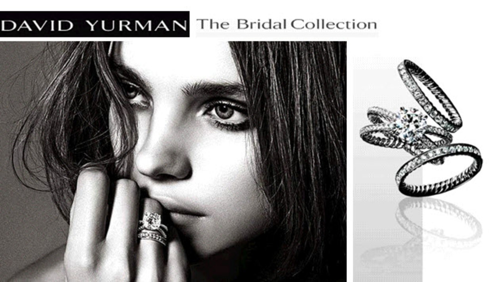 dazzling engagement rings by david yurman featuring iconic cable metalwork - David Yurman Wedding Rings