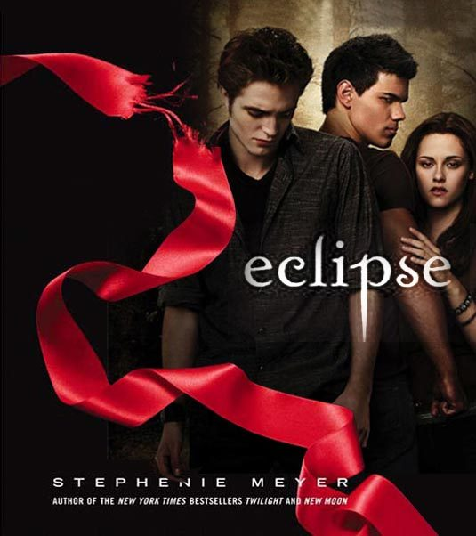 photo of This movie poster features Kristen Stewart and is from the movie Eclipse, part of the popular twilig