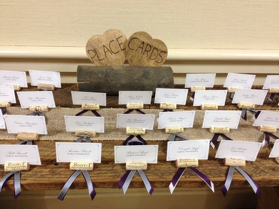 Cork Holders For Escort Cards