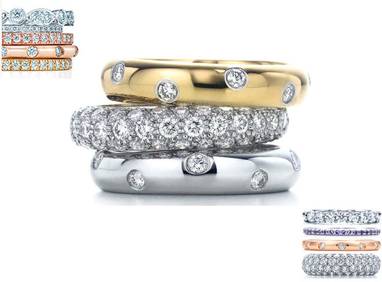 photo of Tiffany Celebration Rings: The Perfect Wedding Day Gift For Your Bride!