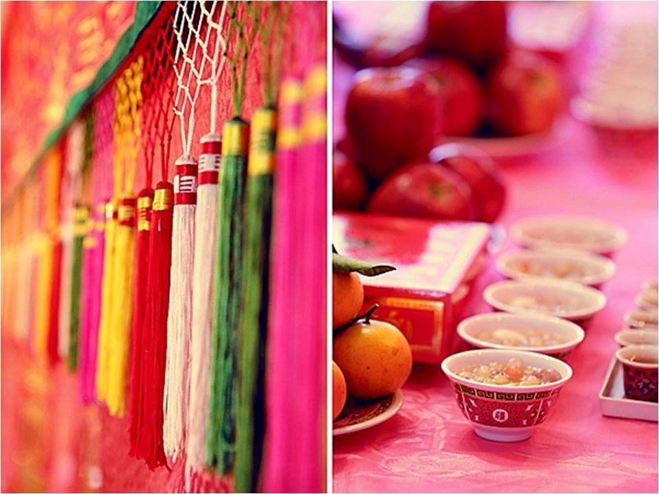 Vibrant Wedding Decor Details From This Traditional Chinese Wedding