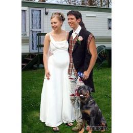 White Trash Wedding.Trash On Onewed