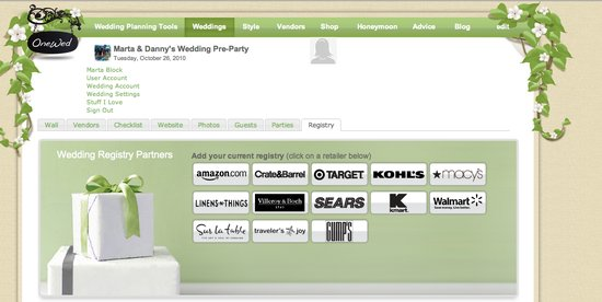 photo of Tell Your Guests about Your Wedding Gift Registry