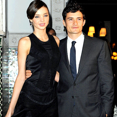 photo of Sizzling Celebrity Engagements: Orlando Bloom Will Marry Supermodel Miranda Kerr!
