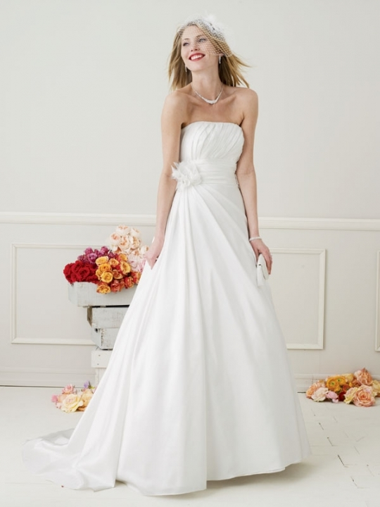 Galina-wg3045-strapless-white-a-line-gathered-side-of-waist.full
