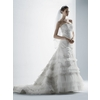 Oleg-cassini-new-wedding-dresses-cwg352-strapless-lace-ruffles-romantic.square