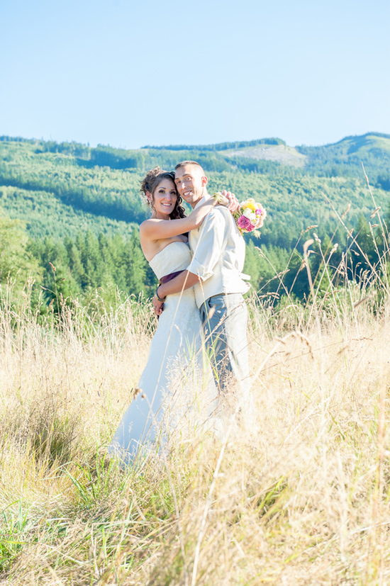 photo of Rustic Washington Wedding