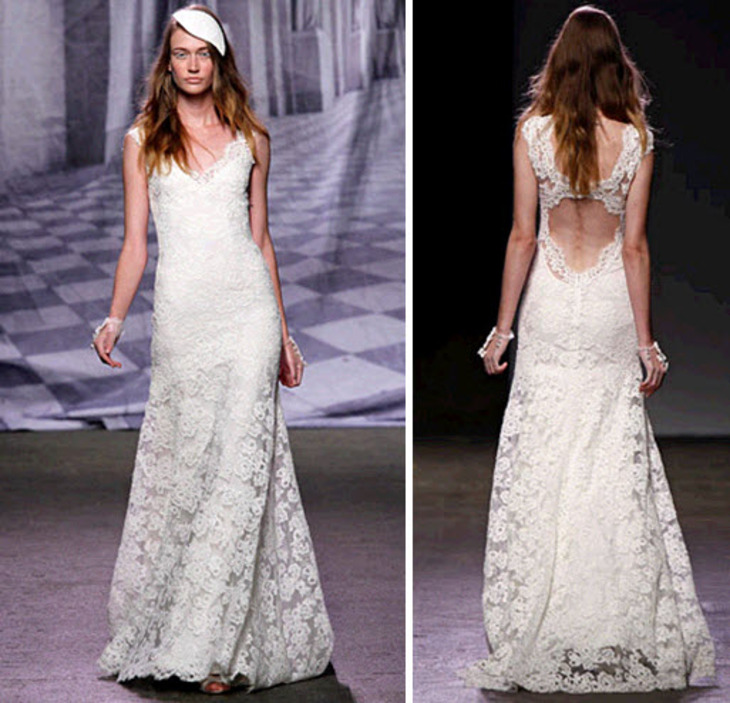 Be Fabulous Head To Toe Front Back Stunning Low Wedding Dresses Ideabook By Onewed On OneWed