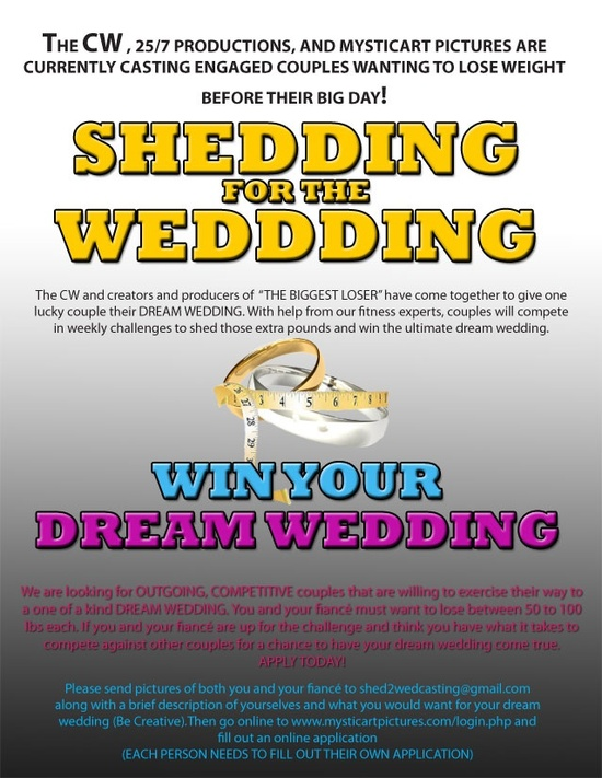 photo of Win Your Dream Wedding (and lose weight)