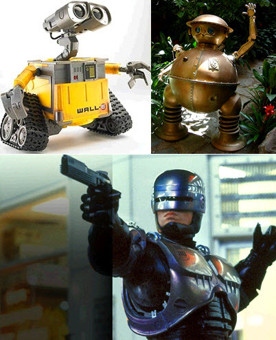 Wall-E, Tik Tok, and Robocop: would you hire them as your wedding officiant?
