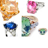 To-die-for-dazzling-colored-gemstone-platinum-diamond-engagement-rings.square