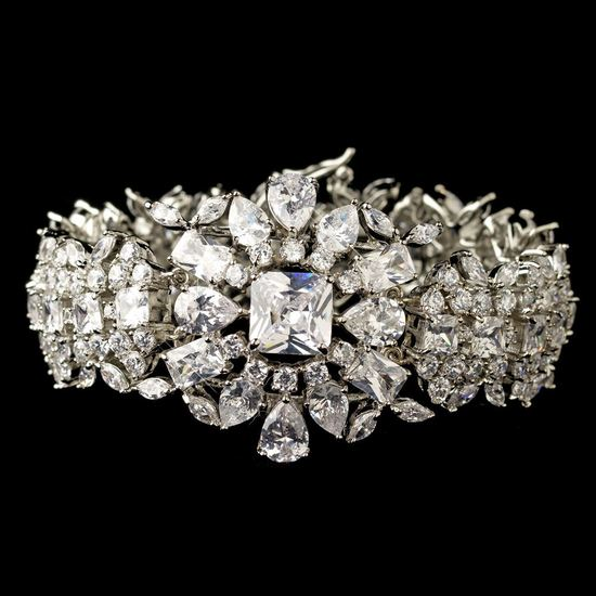 rhodium-clear-multi-cz-crystal-bracelet-13042-3