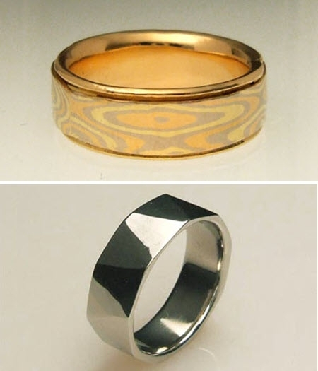 recycled bride wedding bands for your groom - Grooms Wedding Ring