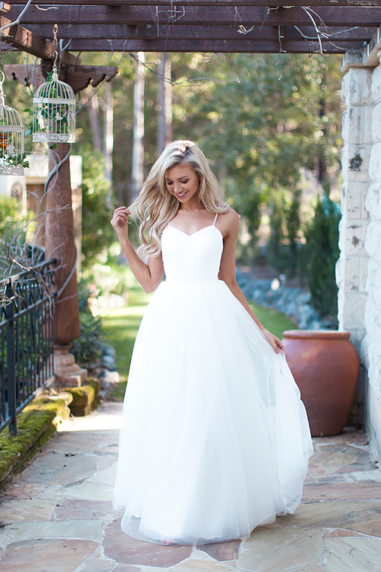 photo of Jayne Wedding Dress with Lace and Beaded Bodice